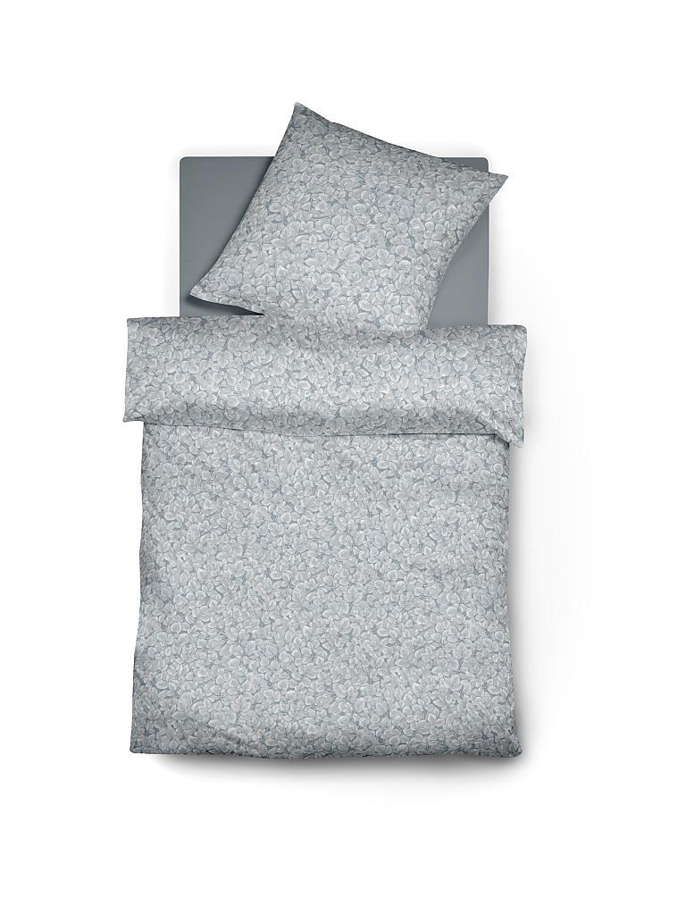 fleuresse jersey bettw sche topas 70x90cm 140x200cm grau grau. Black Bedroom Furniture Sets. Home Design Ideas