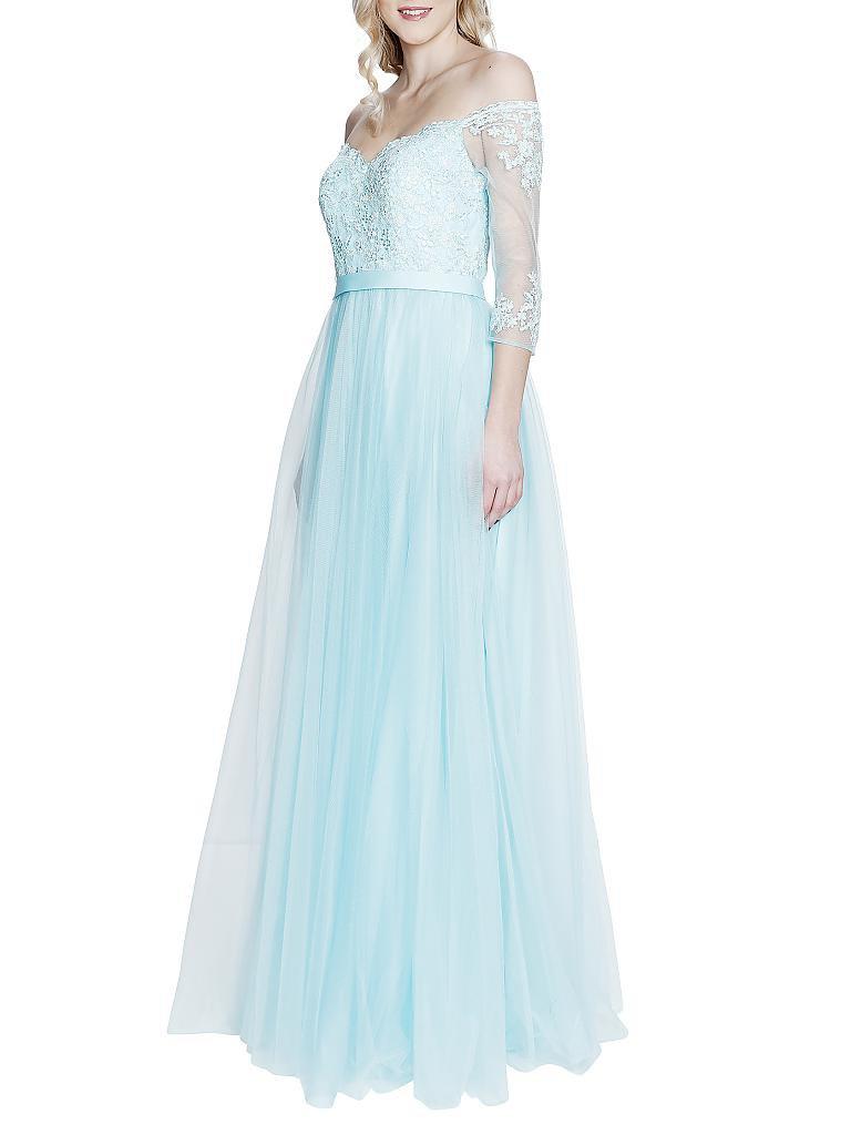 FOREVER UNIQUE Abendkleid blau | 38