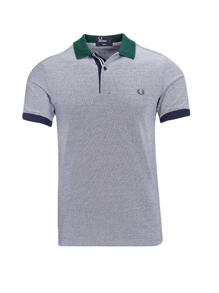 FRED PERRY | Poloshirt Slim-Fit  | blau