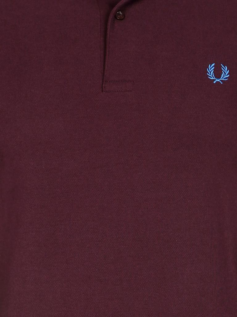 FRED PERRY | Poloshirt Slim-Fit | rot