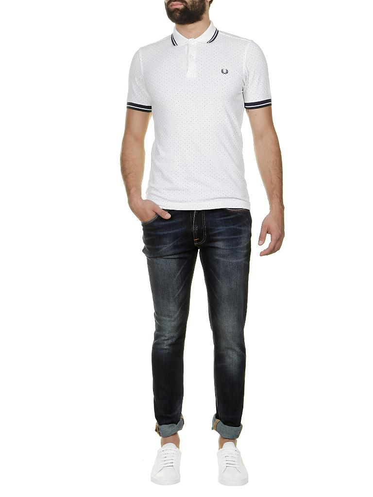 FRED PERRY | Poloshirt Slim-Fit | weiß