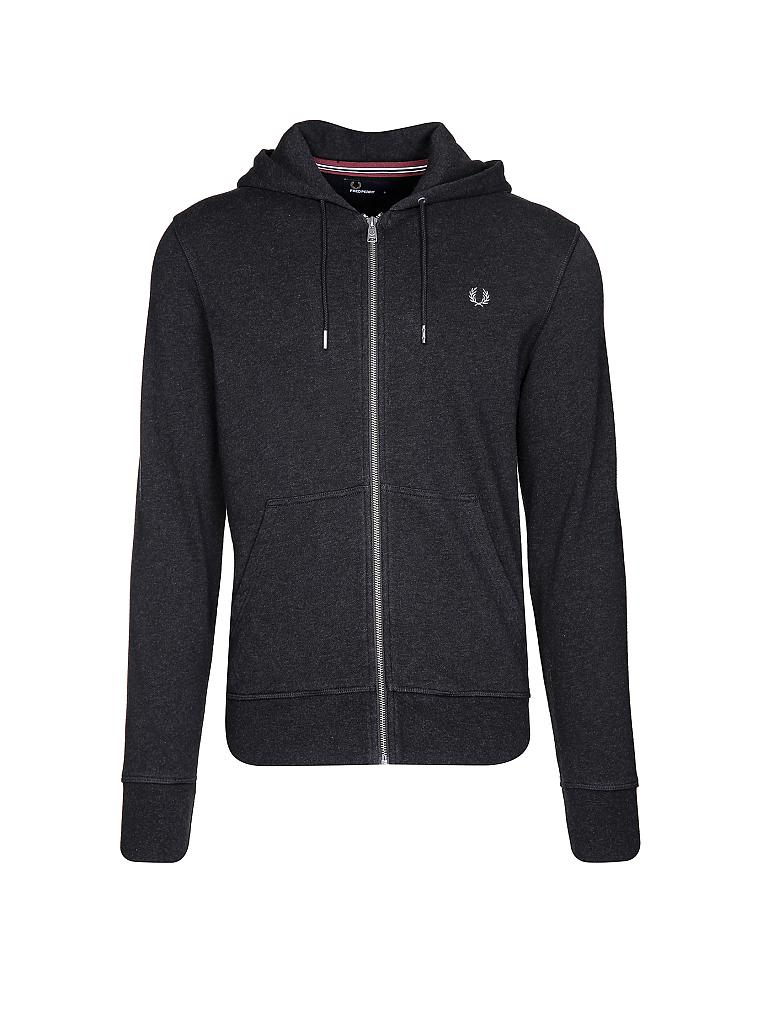 FRED PERRY | Sweat-Weste | grau