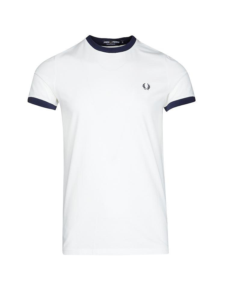 FRED PERRY | T-Shirt | weiß