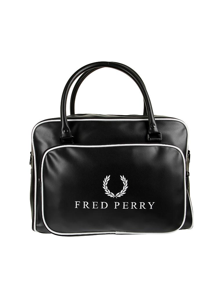 fred perry tasche weekender holdall schwarz. Black Bedroom Furniture Sets. Home Design Ideas