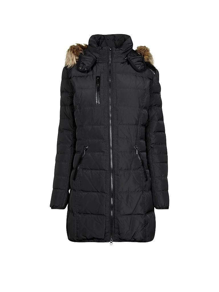 Daunen mantel schwarz
