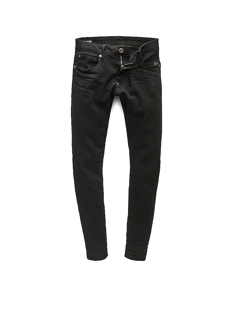 G-Star Jeans Skinny Fit Revend Schwarz | W29/L32