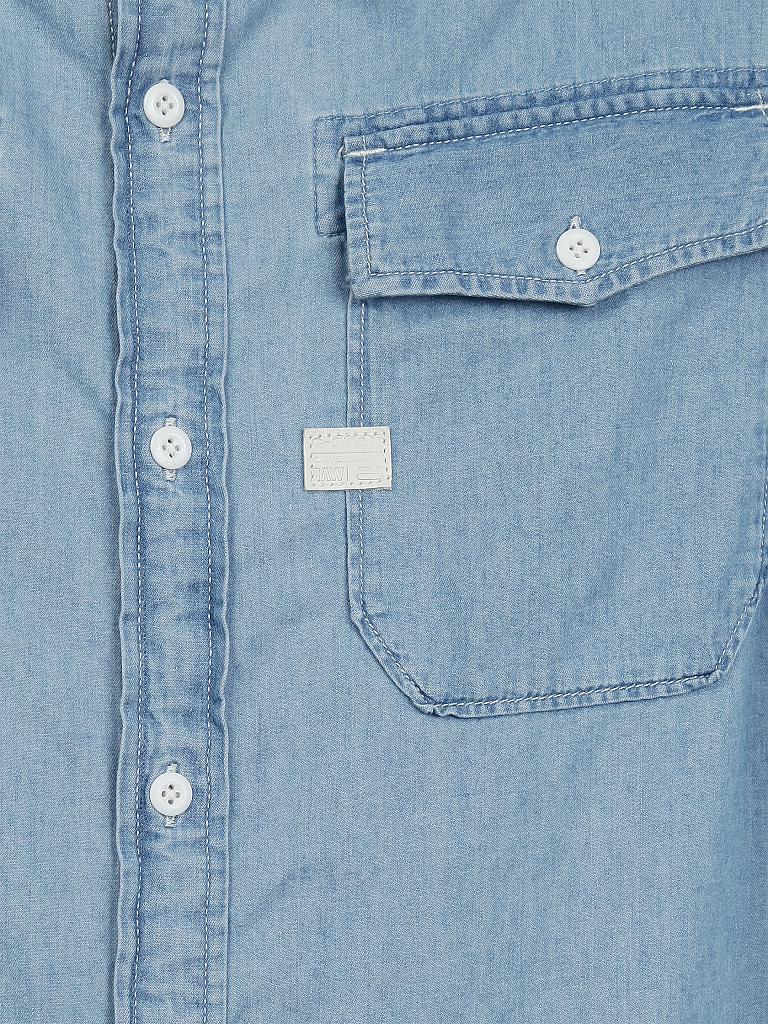 g star jeanshemd slim fit blau xl. Black Bedroom Furniture Sets. Home Design Ideas
