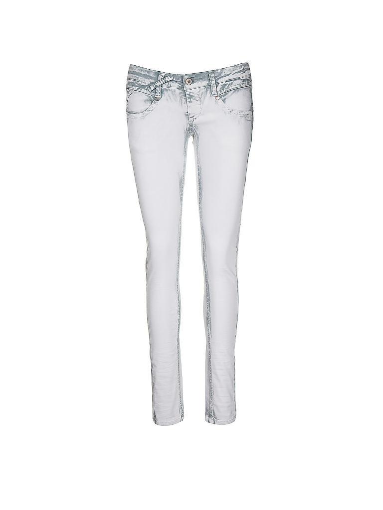gang jeans skinny fit nena grau 25. Black Bedroom Furniture Sets. Home Design Ideas