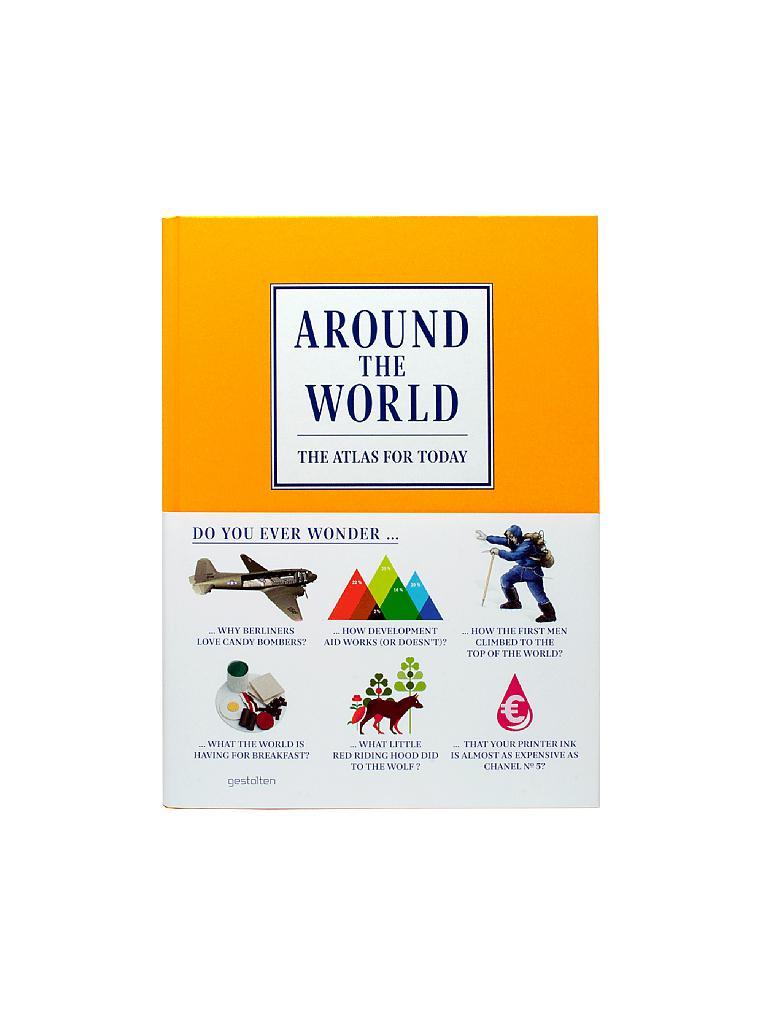 gestalten verlag buch around the world the atlas for today 999. Black Bedroom Furniture Sets. Home Design Ideas