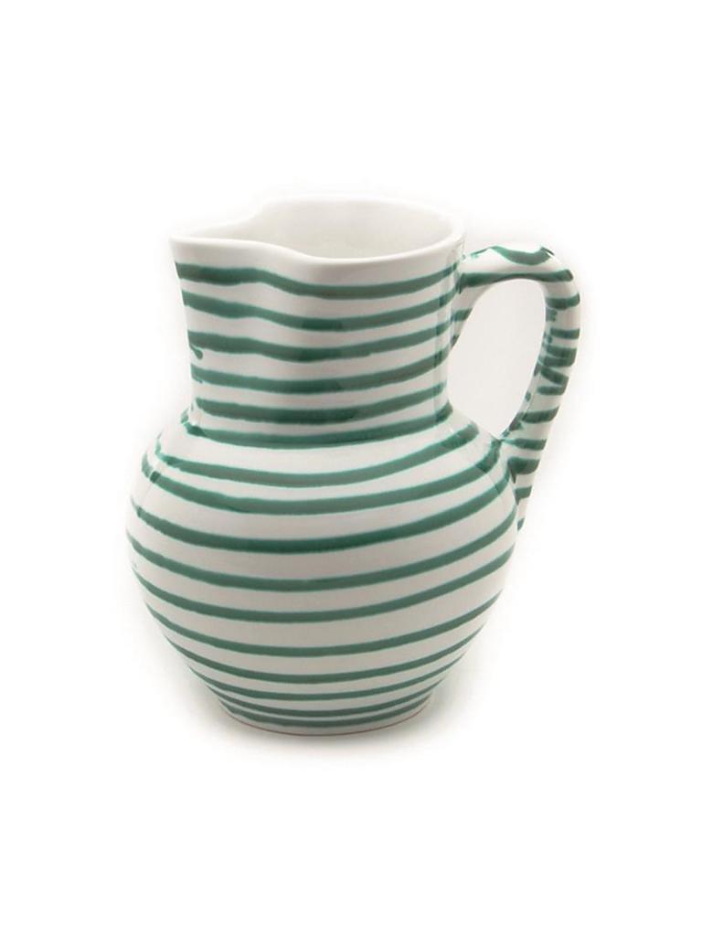 gmundner keramik krug wiener form gr n geflammt 1 5l gr n. Black Bedroom Furniture Sets. Home Design Ideas