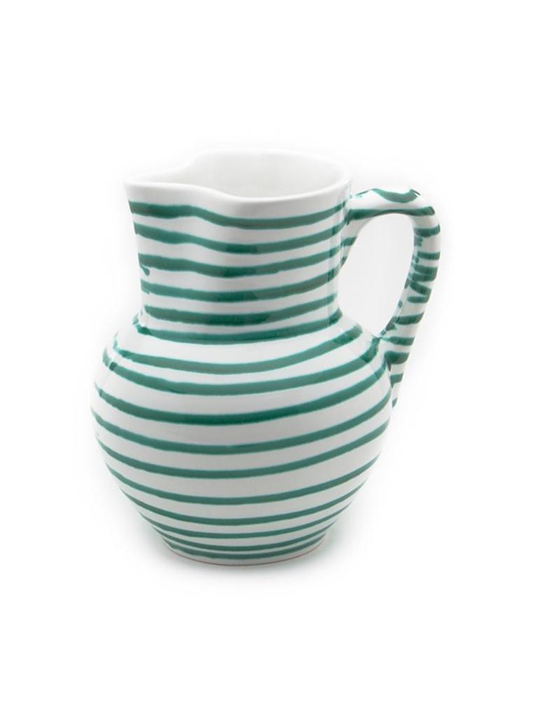 gmundner keramik krug wiener form gr n geflammt 1l gr n. Black Bedroom Furniture Sets. Home Design Ideas