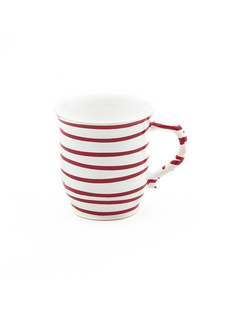 gmundner keramik schokotasse rot geflammt 0 3l rot. Black Bedroom Furniture Sets. Home Design Ideas