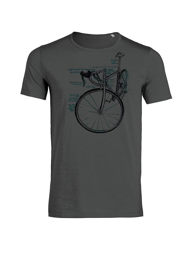 GREENBOMB | T-Shirt | grau