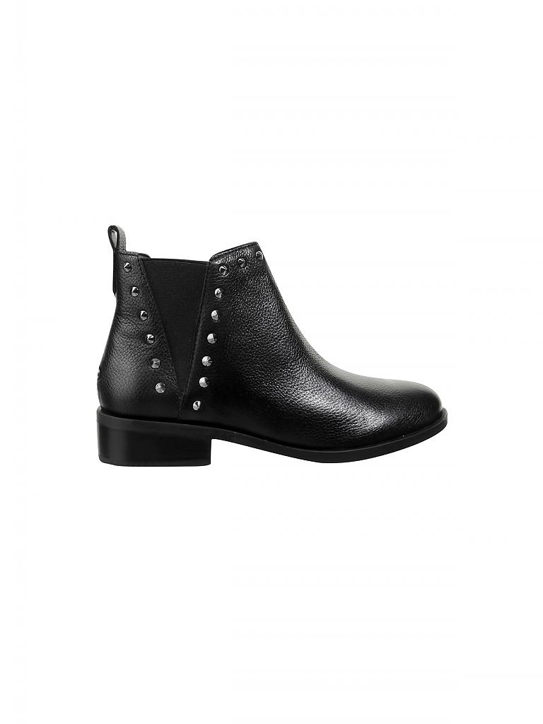 Guess Damen Mantel Schwarz Schwarz, Schwarz 38 cm: