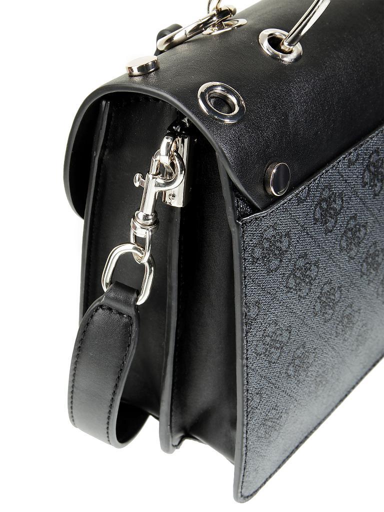 guess tasche handtasche jacqui schwarz. Black Bedroom Furniture Sets. Home Design Ideas
