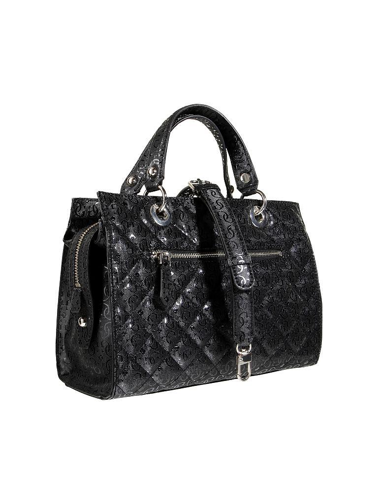 guess tasche handtasche seraphina schwarz. Black Bedroom Furniture Sets. Home Design Ideas
