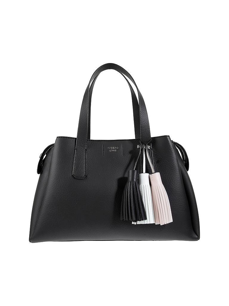guess tasche handtasche trudy schwarz. Black Bedroom Furniture Sets. Home Design Ideas