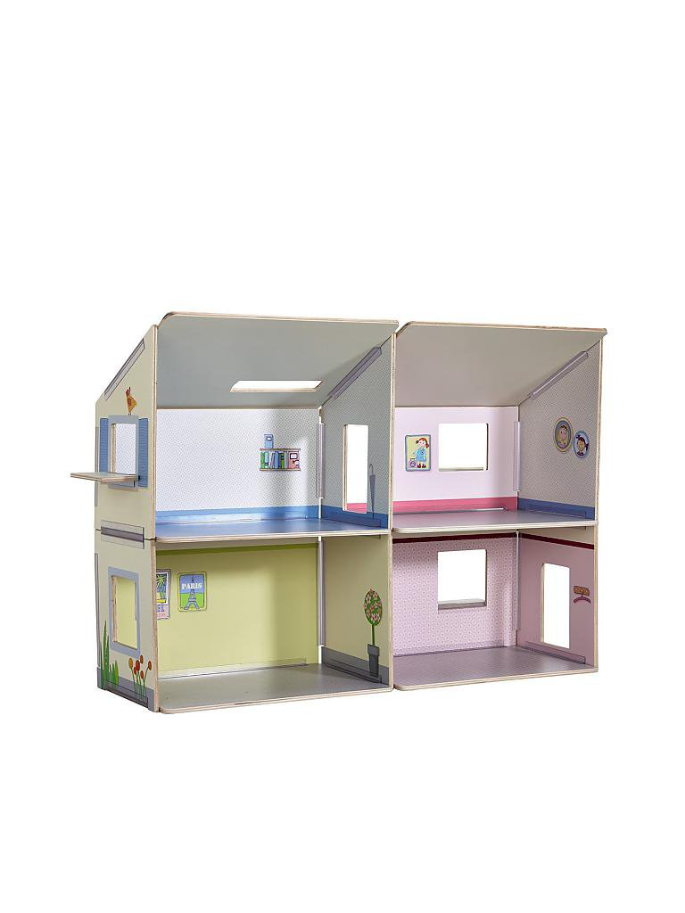 HABA | Little Friends - Puppenhaus Villa Sonnenschein | transparent