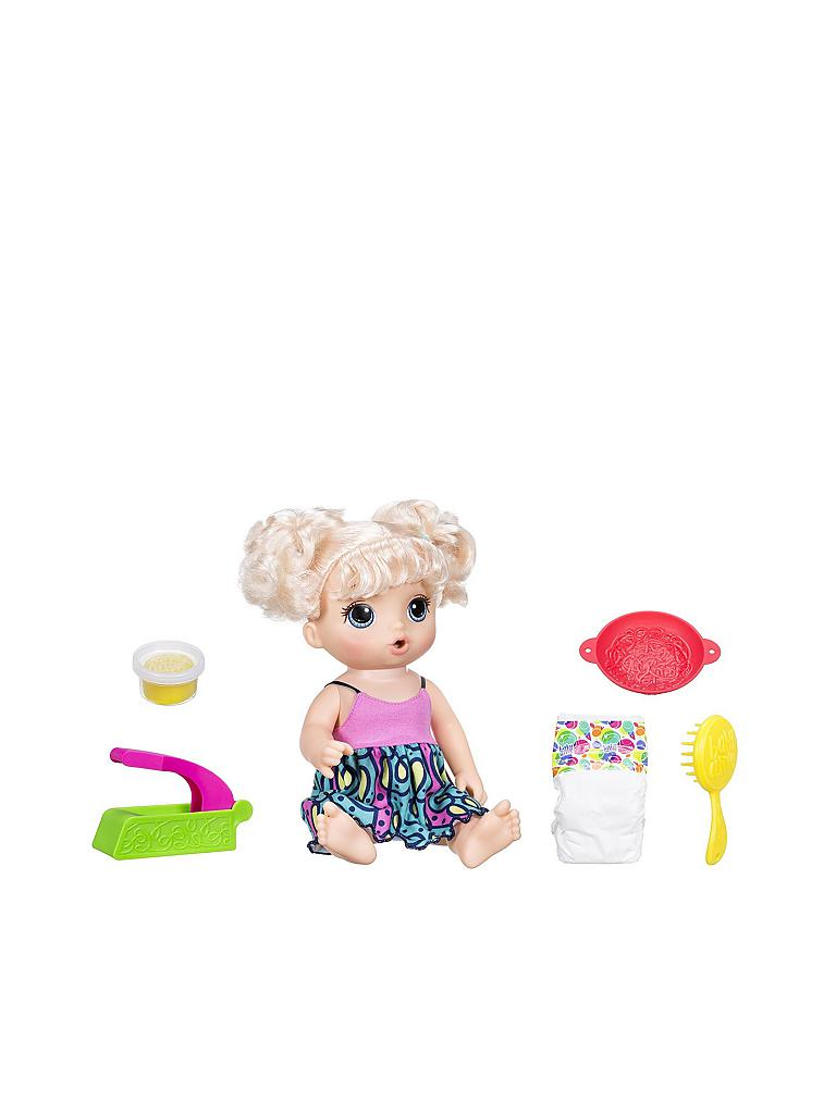 Hasbro Baby Alive Puppe Quot Snackin Noodles Quot Transparent