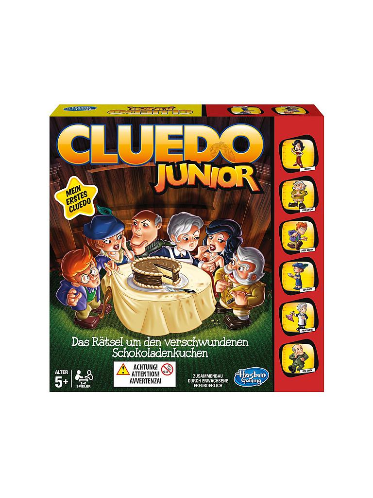 HASBRO | Cluedo Junior | transparent