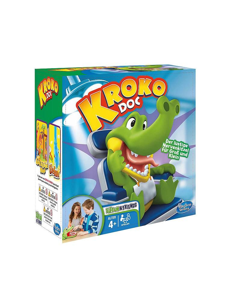 HASBRO | Kroko Doc - Kinderspiel  | transparent