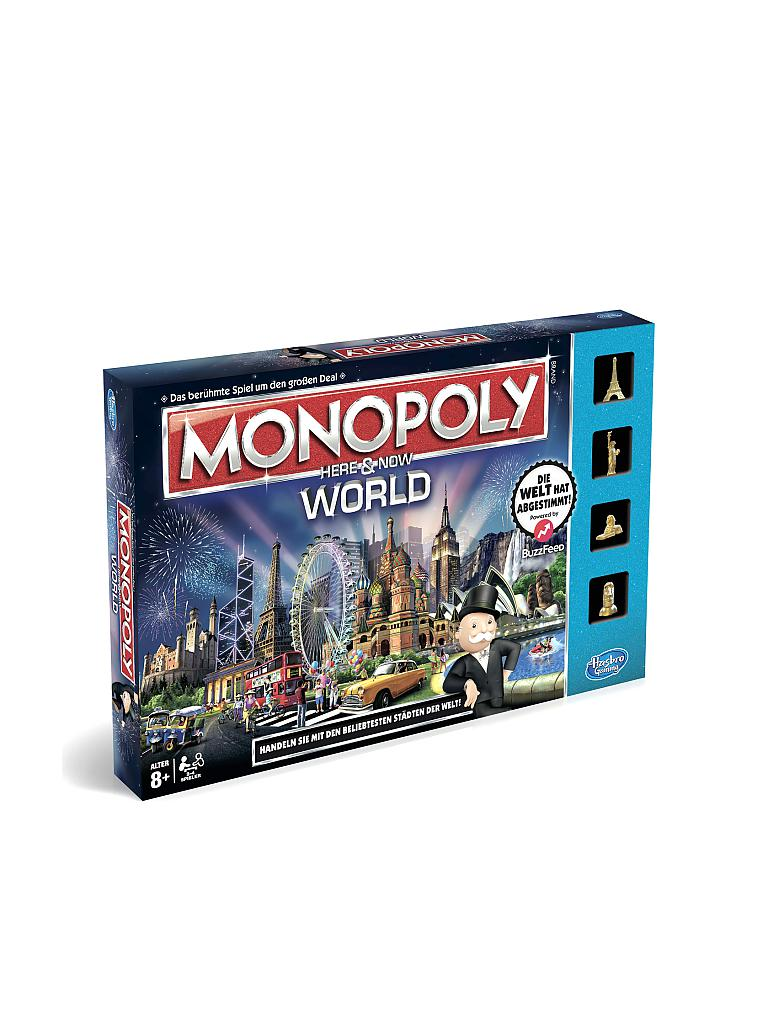 HASBRO | Monopoly World-Pack | transparent