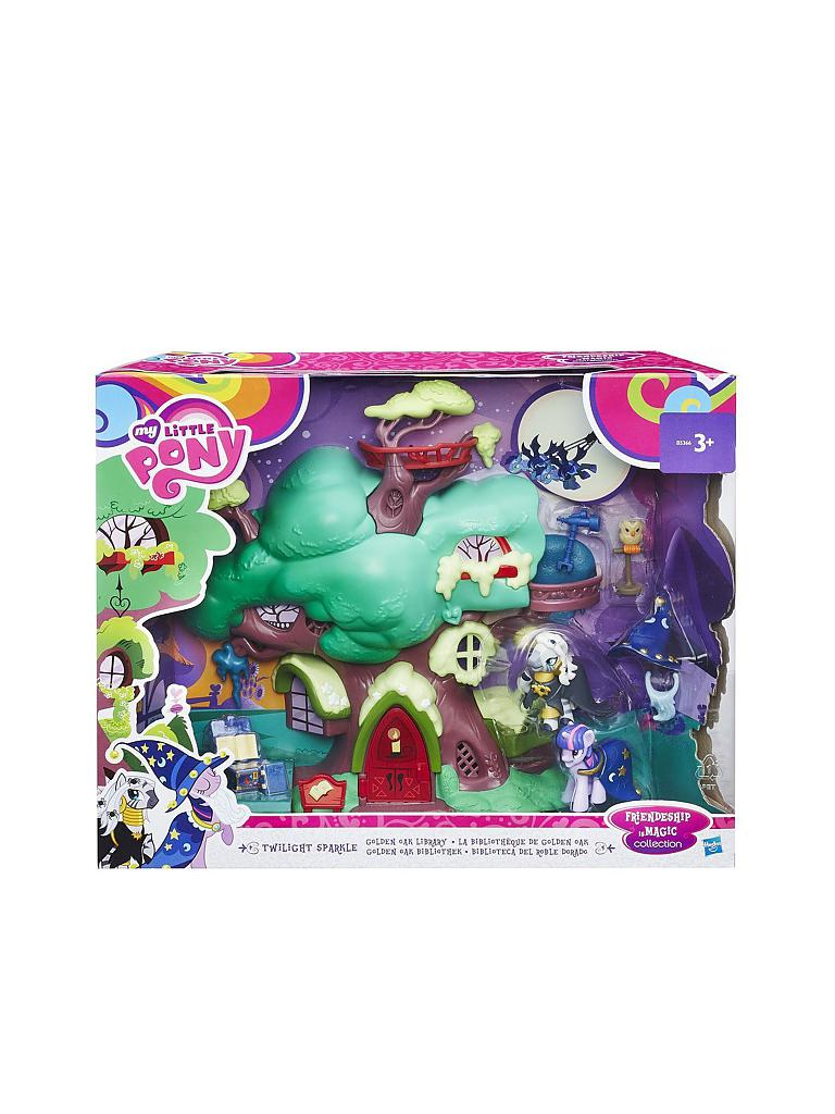 HASBRO | My little Pony - Spielset Twilight Sparkle's Bücherei | transparent