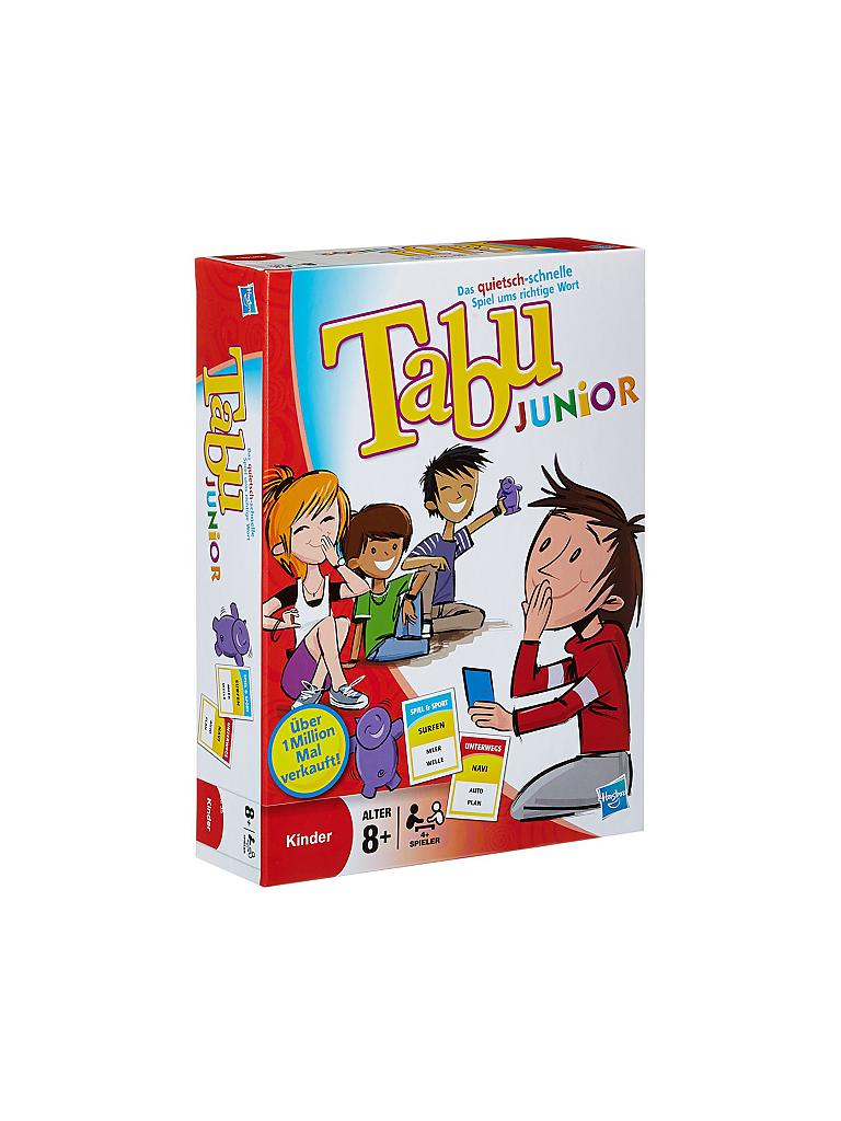 HASBRO | Tabu Junior | transparent