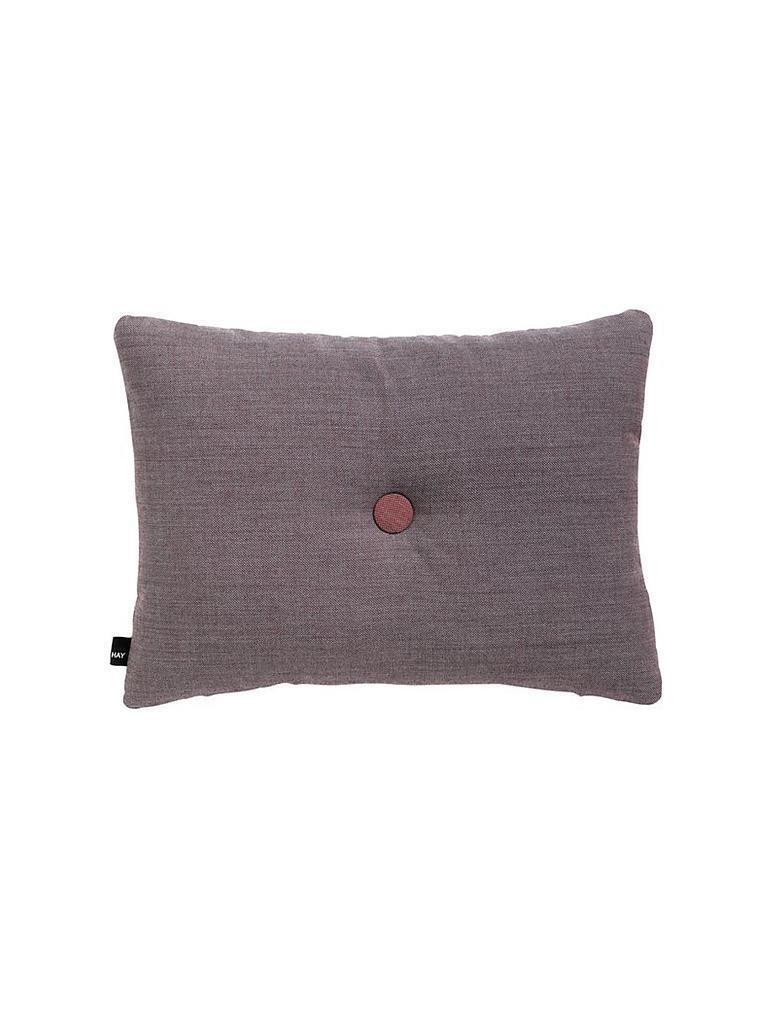 Kissen Hay hay kissen 45x60cm grau burgund grau