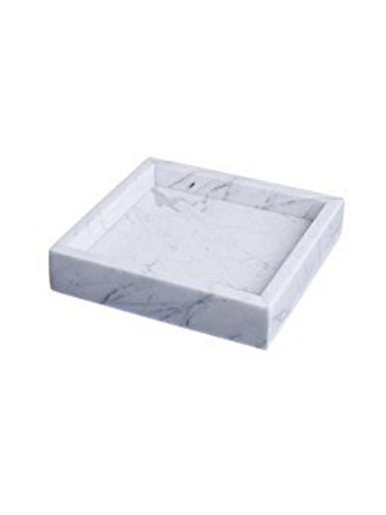 Hay Tablett hay marmor tablett 22x22xm grau