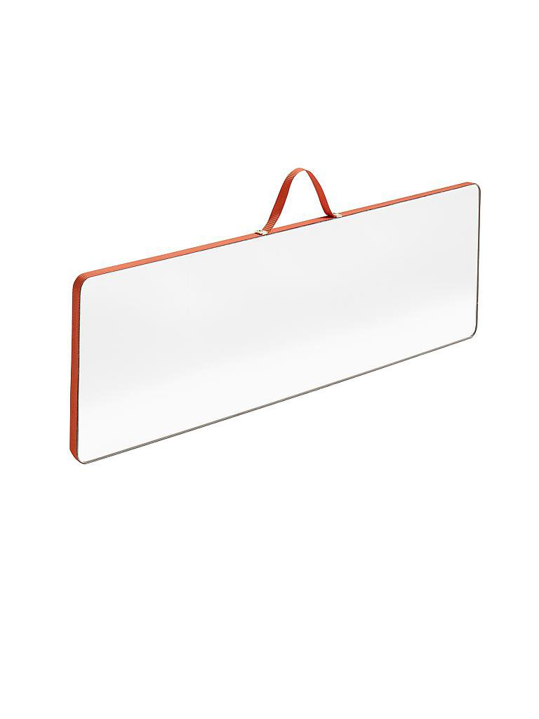hay spiegel 43 5x13 5cm rot. Black Bedroom Furniture Sets. Home Design Ideas
