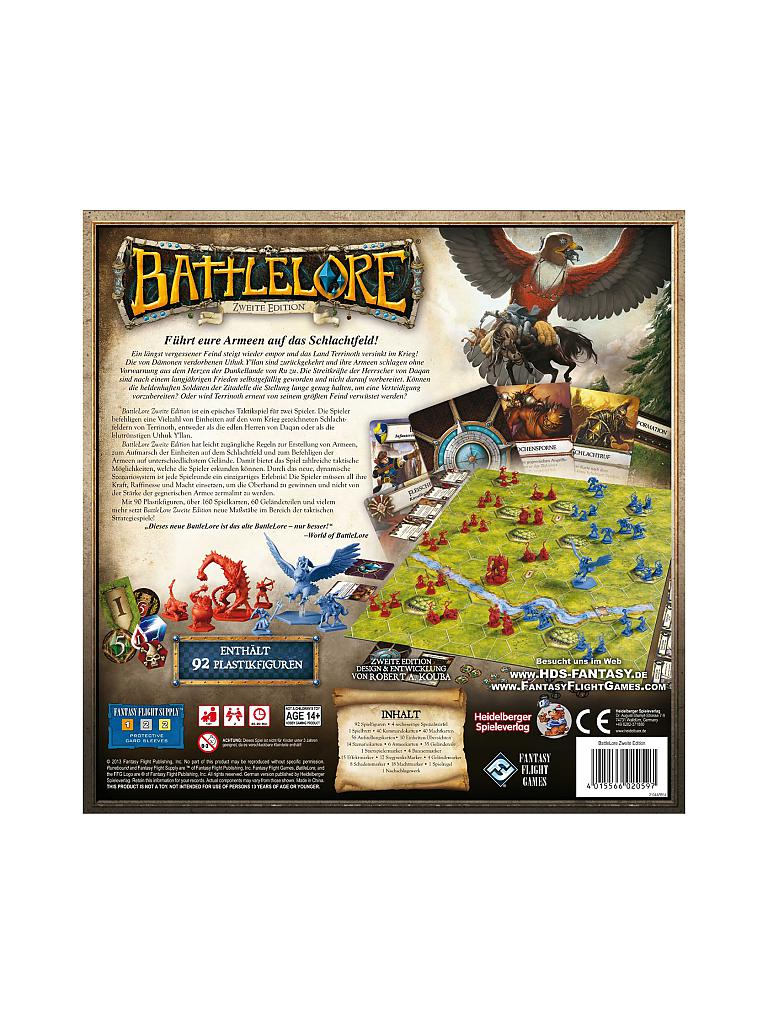 HEIDELBERGER SPIELEVERLAG | Battlelore 2 Edition | transparent