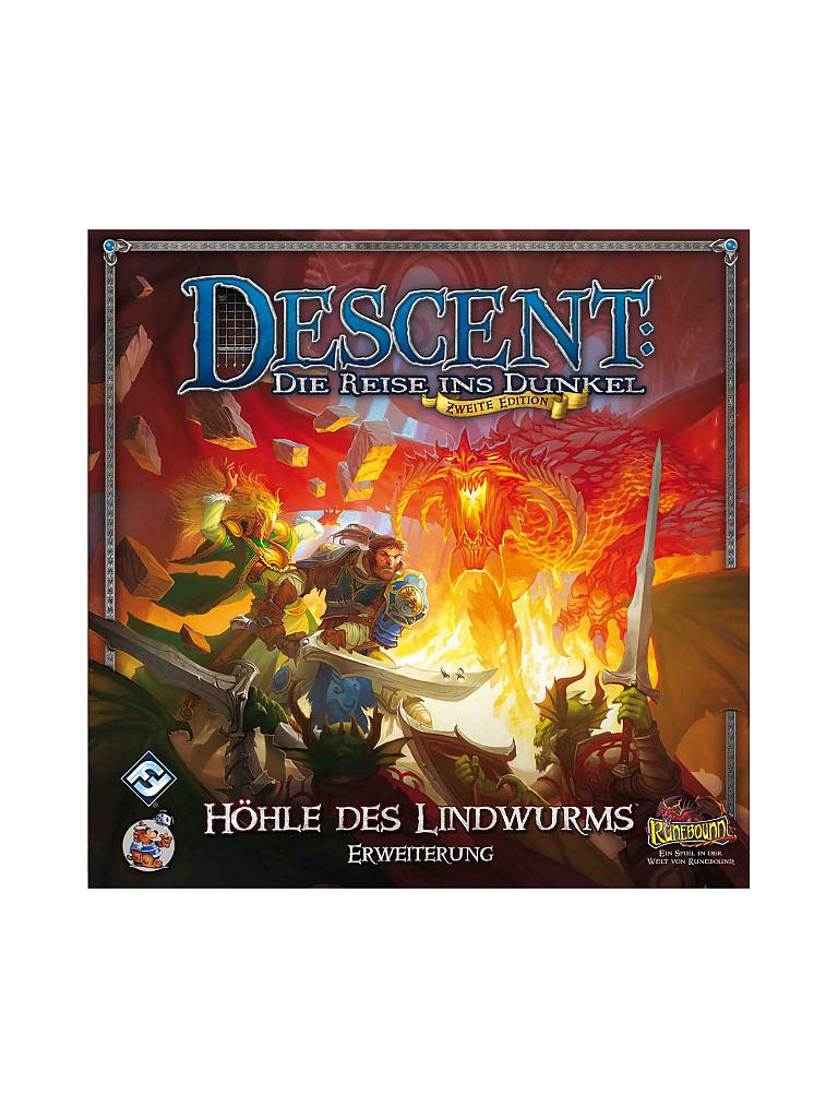 HEIDELBERGER SPIELEVERLAG | Descent 2nd Edition - Die Höhle des Lindwurms | transparent