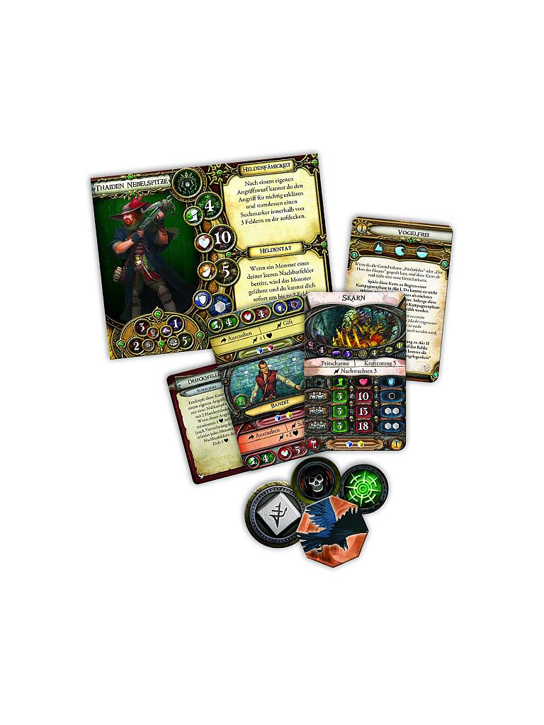 HEIDELBERGER SPIELEVERLAG | Descent 2nd Edition - Schloss Rabenfels (Erweiteurng) | transparent