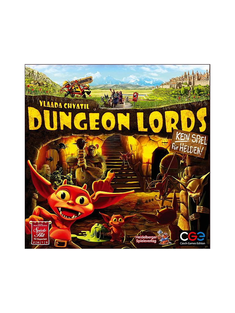 HEIDELBERGER SPIELEVERLAG | Dungeon Lords (Deutsch) | transparent