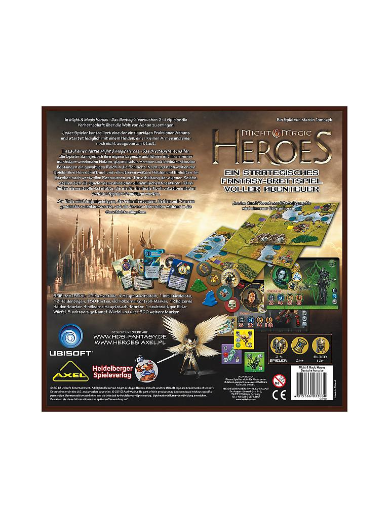 HEIDELBERGER SPIELEVERLAG | Might & Magic Heroes | transparent