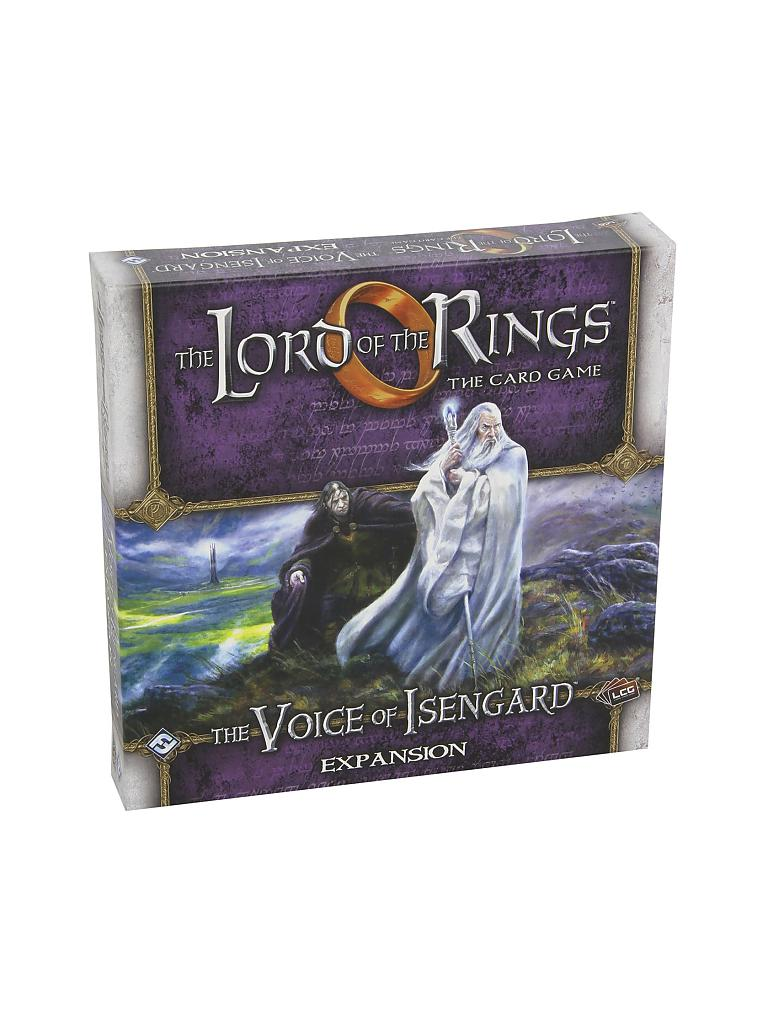 HEIDELBERGER SPIELEVERLAG | The Lord of the Rings LCG - The Voice of Isengard Expansion | transparent