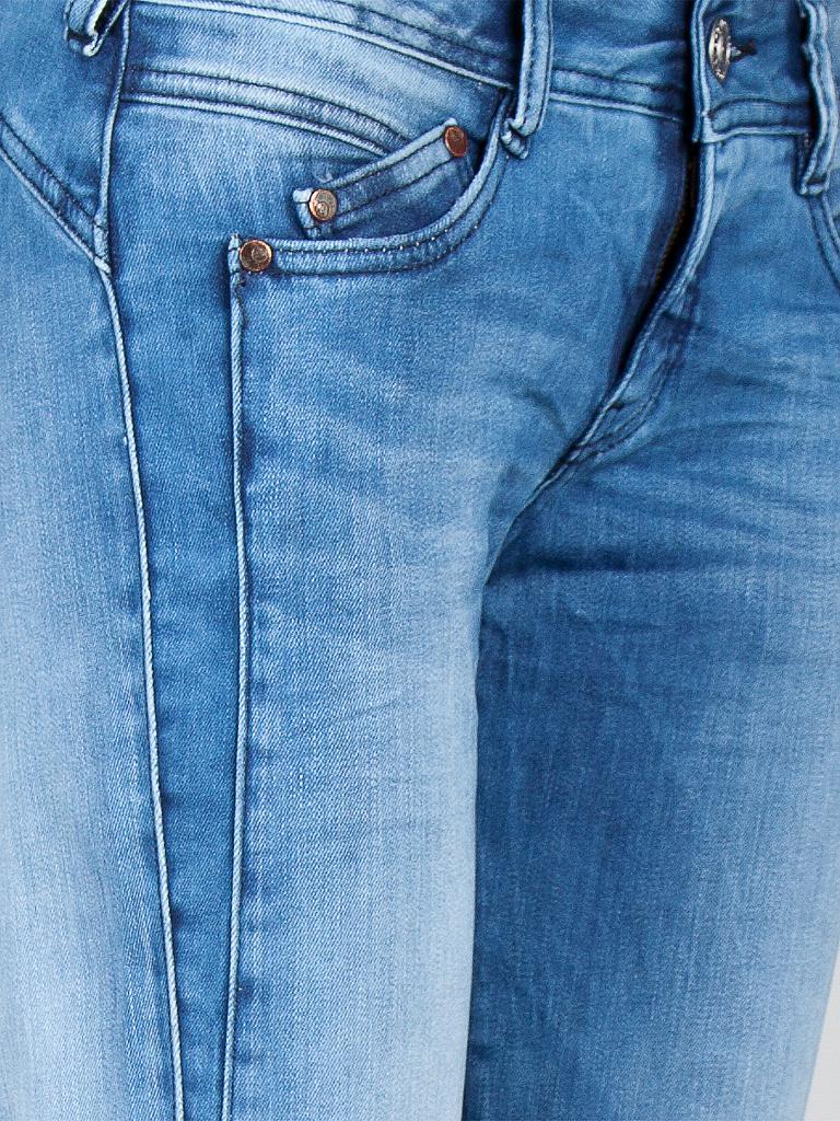 herrlicher jeans slim fit gila blau 25. Black Bedroom Furniture Sets. Home Design Ideas