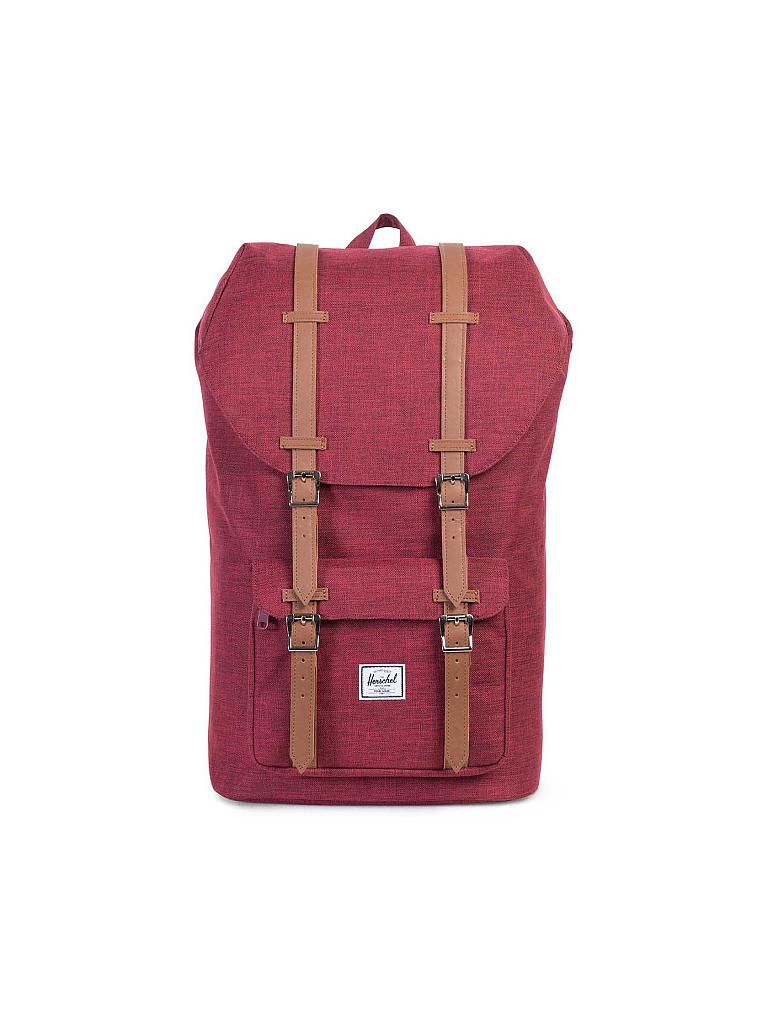 herschel rucksack little america rot. Black Bedroom Furniture Sets. Home Design Ideas