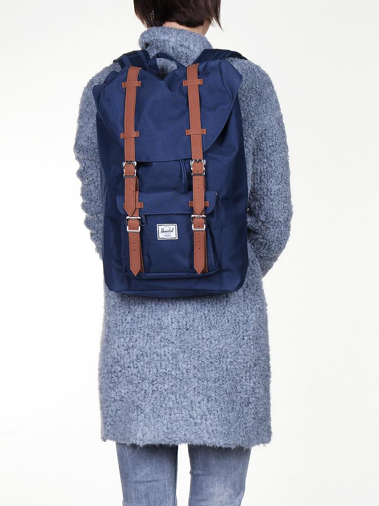 herschel rucksack little america blau herschel little. Black Bedroom Furniture Sets. Home Design Ideas
