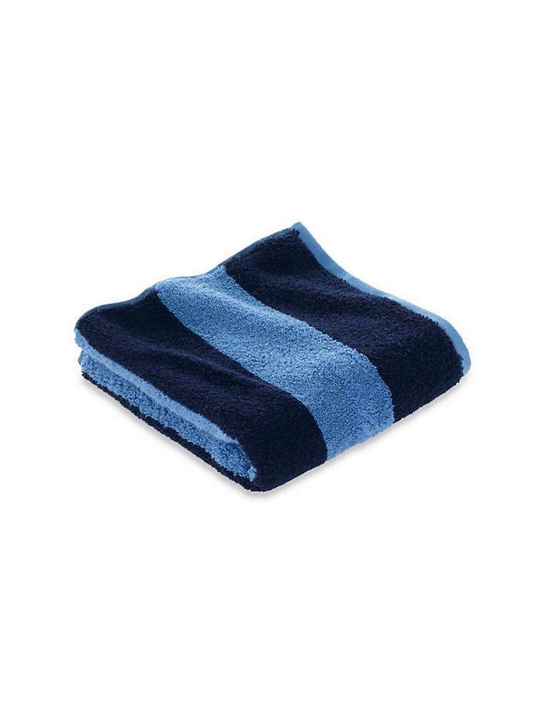 HESSNATUR Handtuch 50x100cm (Kornblume) blau