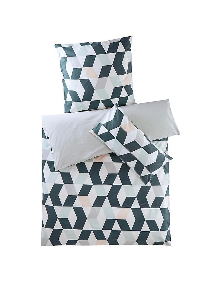hessnatur renforce wende bettw sche kaleido 70x90cm 140x200cm salbei t rkis. Black Bedroom Furniture Sets. Home Design Ideas