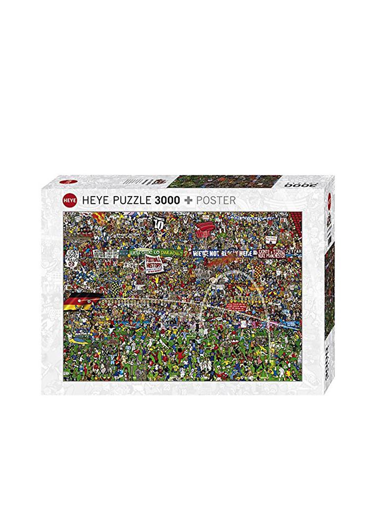 Puzzle Fussball History Alex Bennett 3000 Teile Limitierte Auflage Mit Golddruck