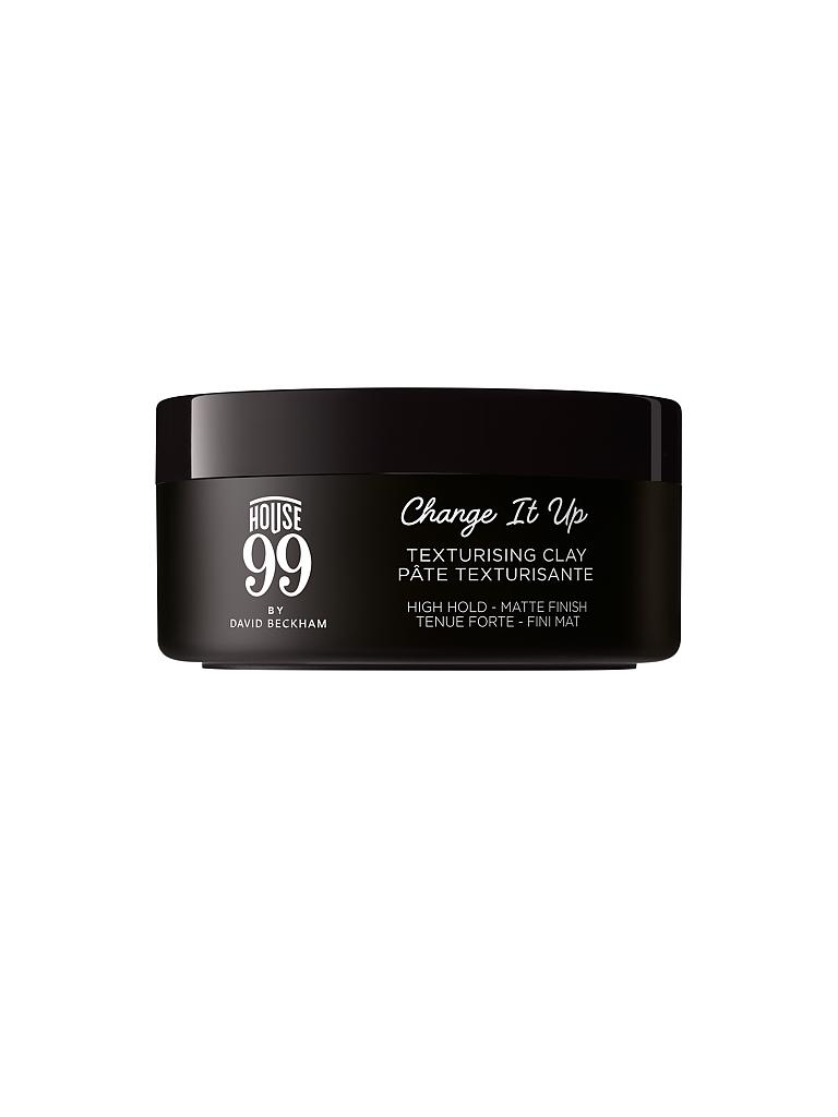 HOUSE 99 | by David Beckham - Change It Up Texturising Clay 90ml  | transparent