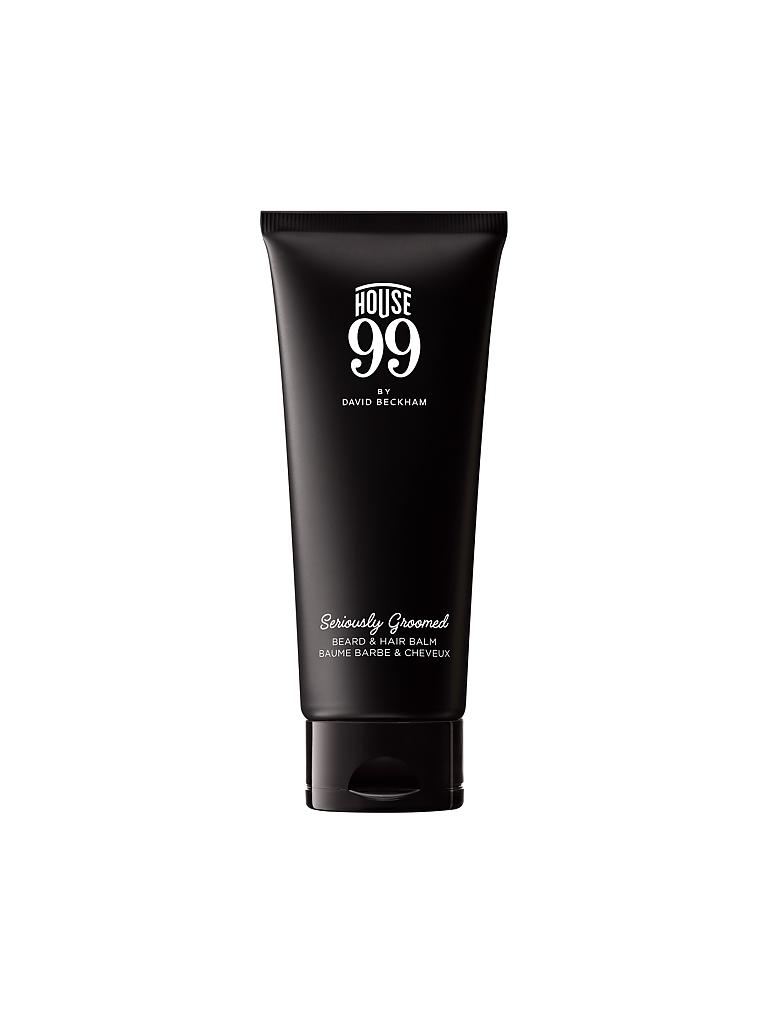 HOUSE 99 | by David Beckham - Seriously Groomed Beard and Hair Balm 75ml | transparent