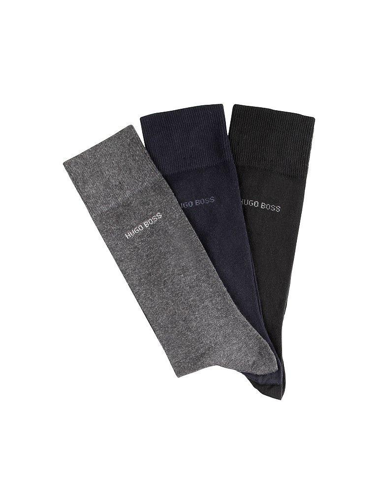 HUGO BOSS Geschenkbox - Socken 3-er Pkg. schwarz