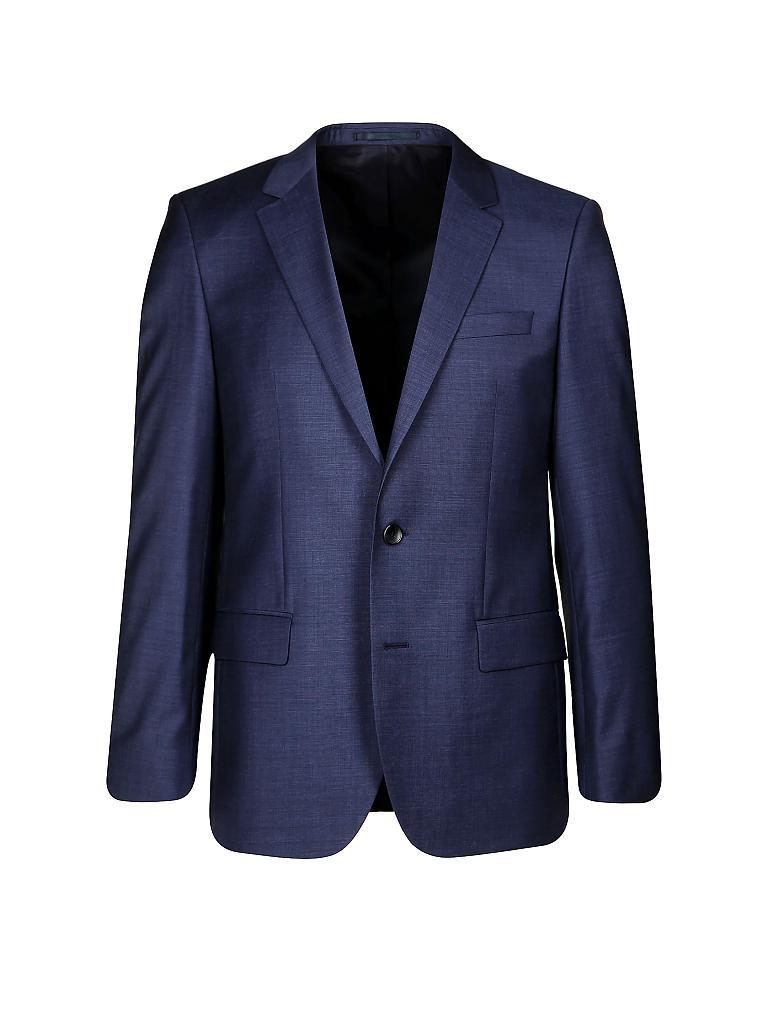 hugo boss anzug slim fit huge genius blau 54. Black Bedroom Furniture Sets. Home Design Ideas