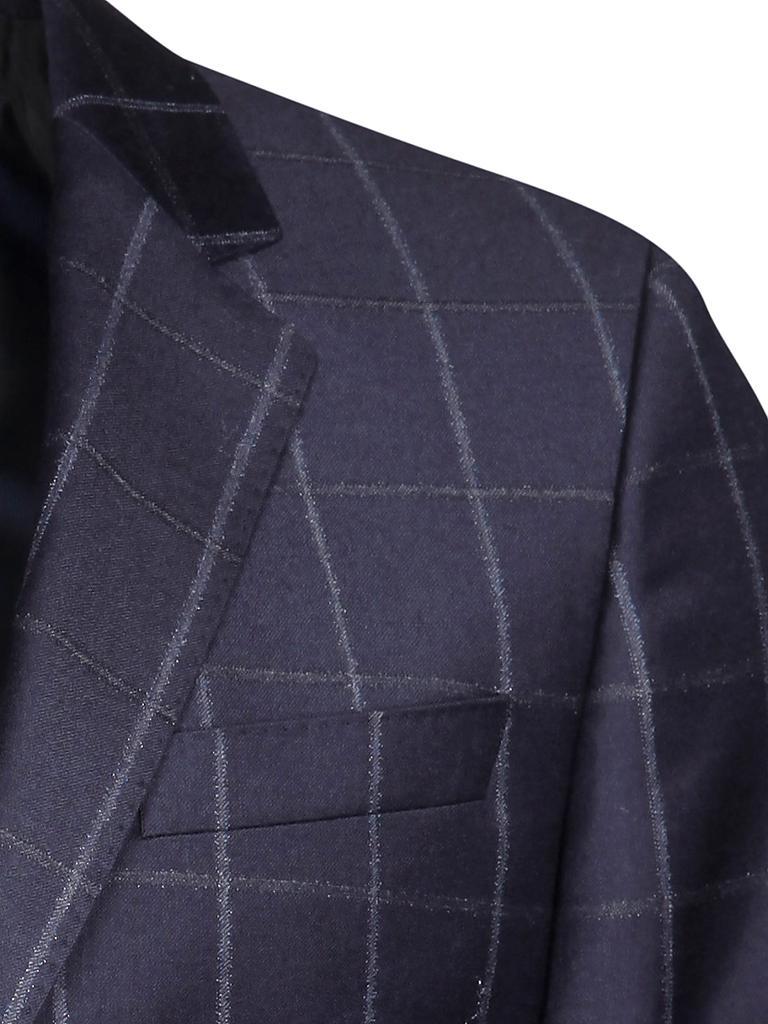 hugo boss anzug slim fit huge genius blau 46. Black Bedroom Furniture Sets. Home Design Ideas