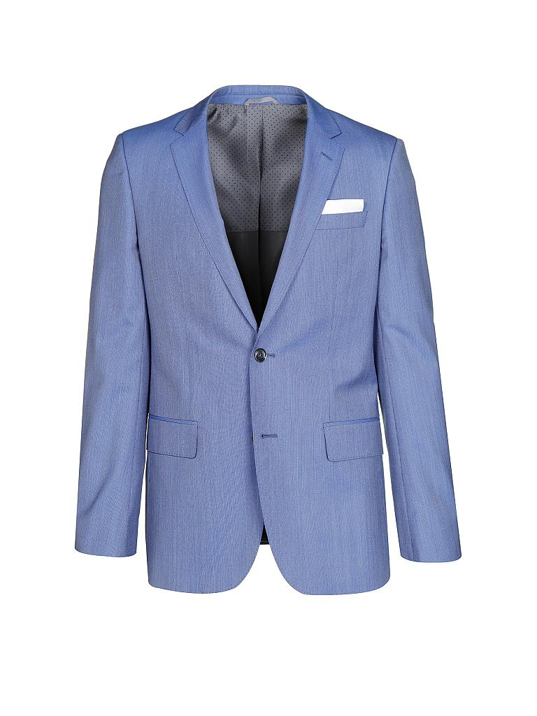 hugo boss anzug slim fit hutson gander blau 56. Black Bedroom Furniture Sets. Home Design Ideas