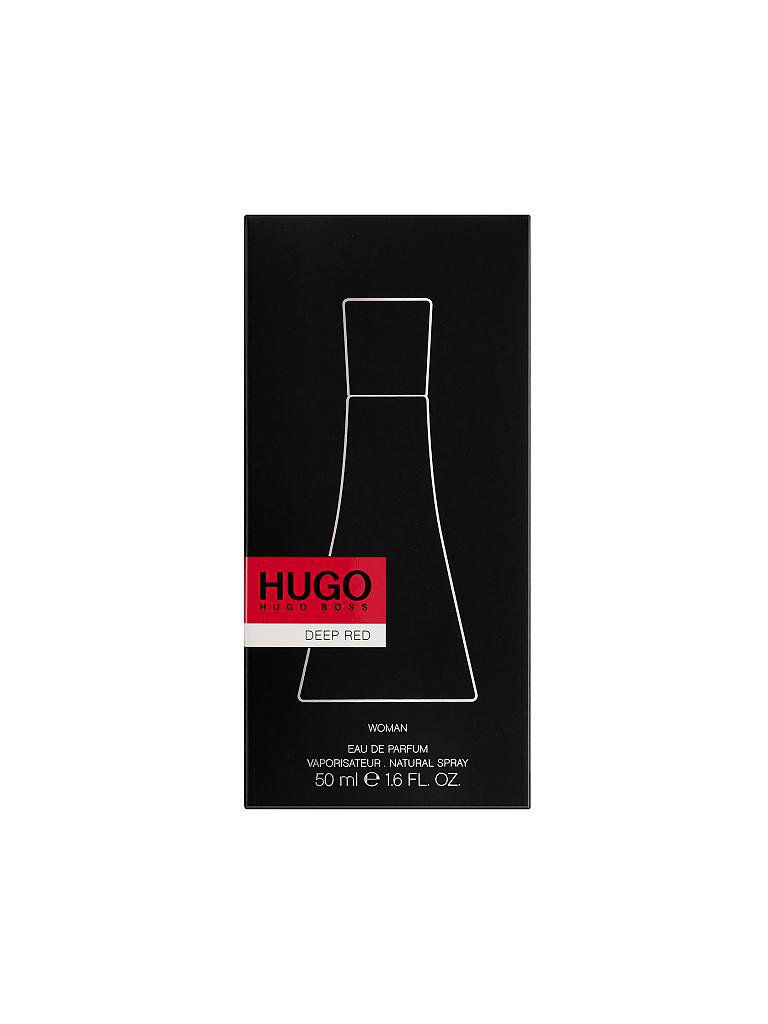 HUGO BOSS | Deep Red Eau de Parfum Natural Spray 50ml | transparent